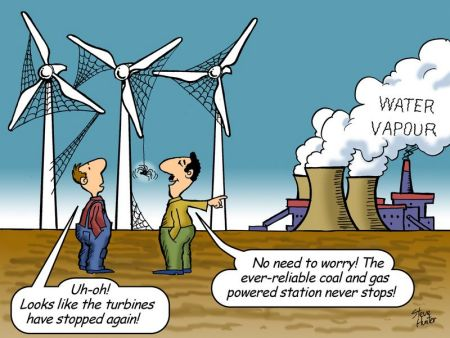 Wind-farm developments have saved virtually zero carbon