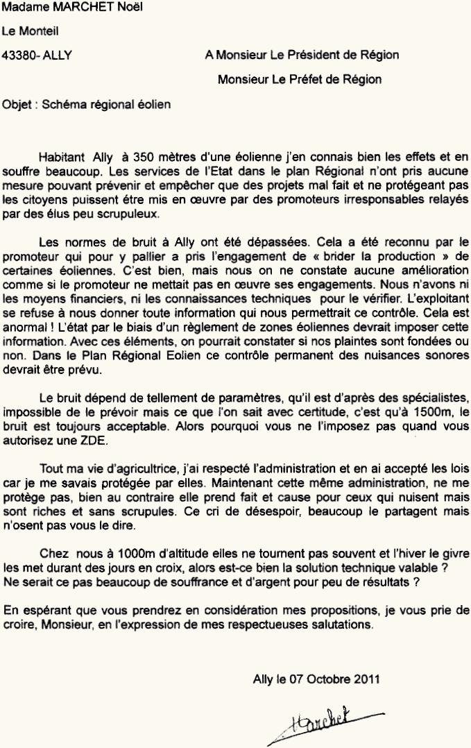 Sch ma r gional olien courrier au pr sident et au for Cuisinier francais 7 lettres
