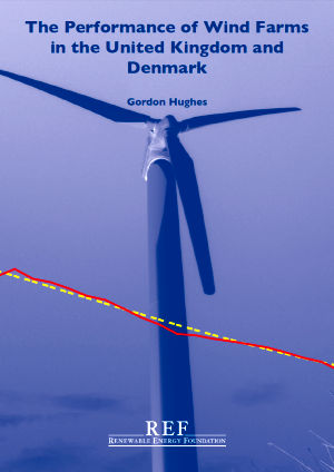 The Performance of Wind Farms in the United Kingdom and Denmark by Gordon Hughes